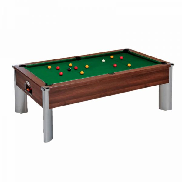 Monarch Fusion Pooltable dark walnut