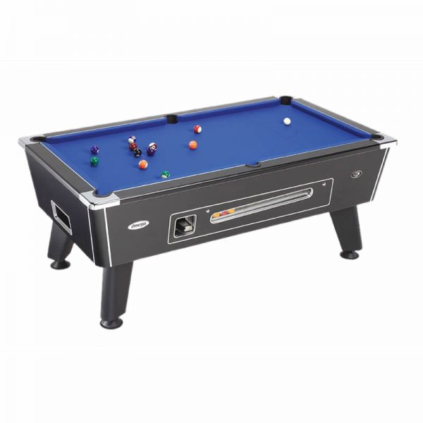 Omega Pool Table Black