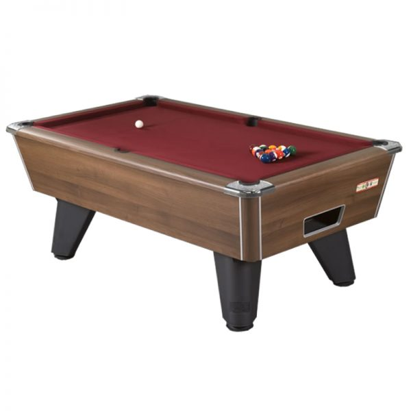 Supreme Winner Pool Table Walnut